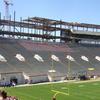 Lane Stadium Construction