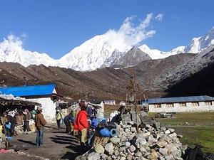 Tsum Valley Manaslu Larke Pass Trekking Fotos