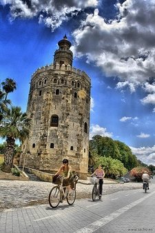 La Torre Del Oro In Seville - Spain Andalusia