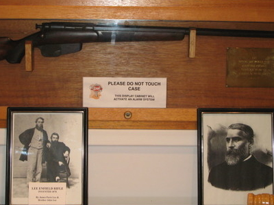 Lee  Enfield  Rifle  Prototype  Wallaceburg  Museum