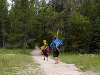 Leigh Lake Trail