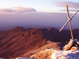 Conquring Mt. Kenya Photos