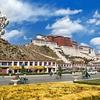 Lhasa Below Potala Palace