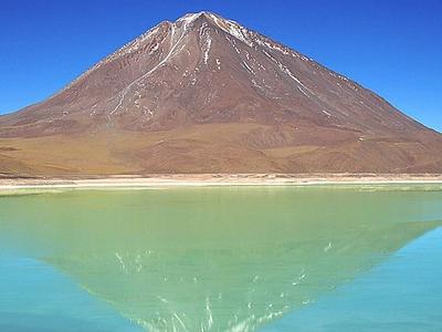 Licancabur From Laguna Verde