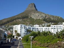 Lions Head Over Cape Town SA Table Mountain