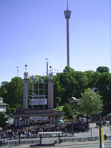 The Entrance Of Liseberg