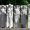 Lithuania Vilnius Antakalnis Cemetery Red Army Heroes