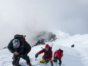Lobuche Peak Climbing Photos