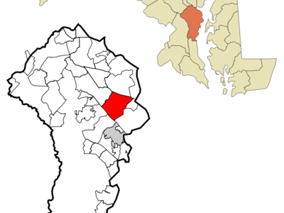Location Of Arnold Maryland