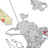Location Of Baldwin Park In California