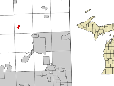 Location Of Clarkston Michigan