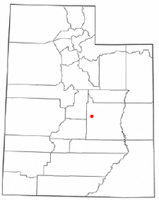 Location Of Ferron Utah