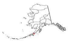 Location Of Ivanof Bay Alaska