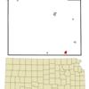 Location Of Kiowa Kansas