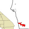 Location In Del Norte County And The State Of California