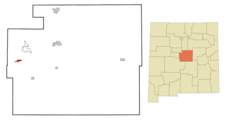 Location Of Manzano New Mexico