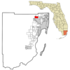 Location In Miami Dade County And The State Of Florida