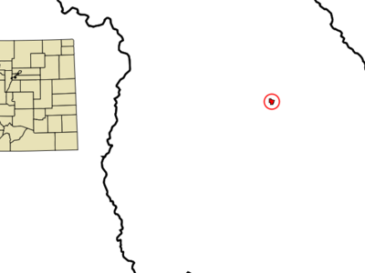 Location In Jackson County And The State Of Colorado