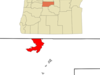 Location Of Warm Springs Oregon