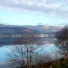Loch Fyne Near Strachur Looking Toward Inverarry