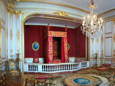 Louis XIV's Ceremonial Bedroom