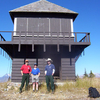 Loneman Fire Lookout - Glacier - USA