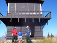 Loneman Fire Lookout