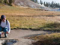 Lone Star Geyser Basin Trail