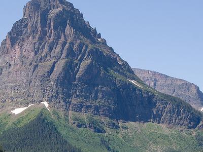 Lone Walker Mountain - Glacier - USA