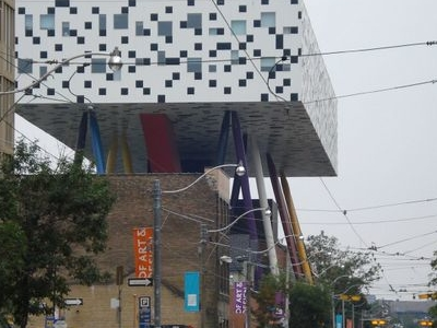 Looking North At  Mc Caul At  OCAD
