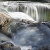 Lower Lewis River Falls In Gifford Pinchot National Forest