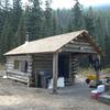 Lower Park Creek Patrol Cabin - Glacier - USA