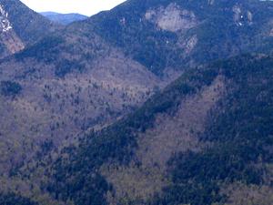 Lower Wolfjaw Mountain