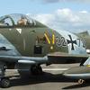 Retired Luftwaffe Fiat G.91R/3 On Display
