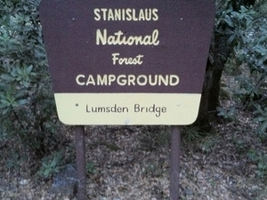 Lumsden Bridge Campground
