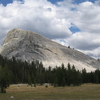 Lembert Dome From Tuolumne Meadows