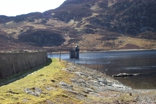 Llyn Cowlyd Reservoir Dam