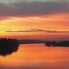 Long Bien Bridge Sunset