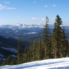 Looking Southeast From The Back Of The Summit Of Northstar