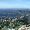 Lyderhorn Toward Askøy And Oygarden