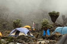Machame Route Barranco Camp