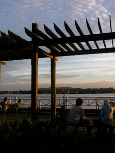 View Of Mahakam River