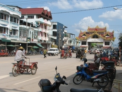 Main Street Myawaddy
