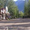 Main Street Of Mc Carthy Alaska