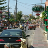 Malia Strip During The Day