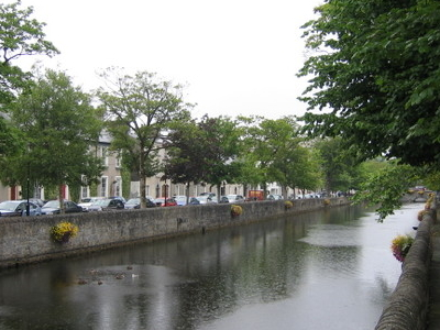 Mall Along Carrowbeg River In Westport