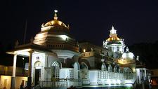 Mangeshi Temple - Night View
