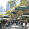 Tables And Seating At Bryant Park