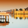 Man Sagar Lake With Water Palace