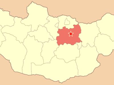 Map Mn Tuv Aimag